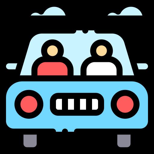 carro com pessoas
